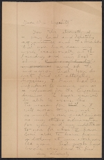 [Robert W. White draft of a letter to Jacques Lipchitz ]