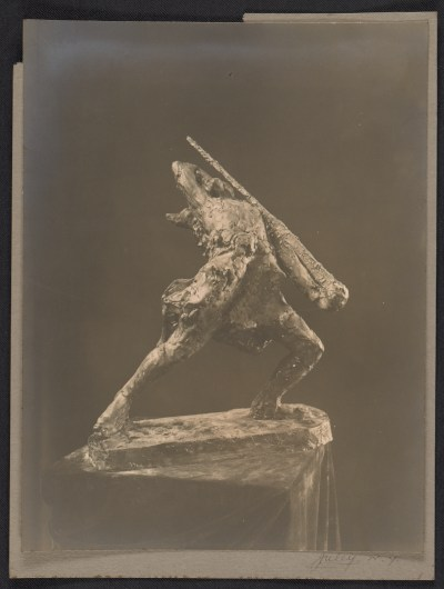 Gertrude Vanderbilt Whitneys sculpture His last charge