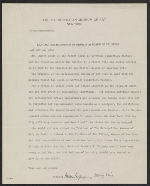 Metropolitan Museum of Art (New York, N.Y.), New York, N.Y. memorandum to unidentified recipient