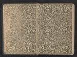 [Gertrude Vanderbilt Whitney sketchbook/diary cover back 1]