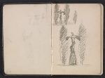 [Gertrude Vanderbilt Whitney sketchbook/diary pages 2]