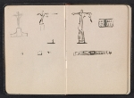 [Gertrude Vanderbilt Whitney sketchbook/diary pages 5]