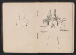 [Gertrude Vanderbilt Whitney sketchbook/diary pages 7]