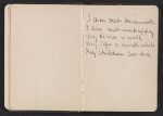 [Gertrude Vanderbilt Whitney sketchbook/diary pages 11]