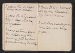 [Gertrude Vanderbilt Whitney sketchbook/diary pages 14]