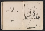 [Gertrude Vanderbilt Whitney sketchbook/diary pages 19]