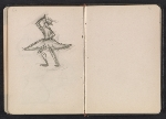 [Gertrude Vanderbilt Whitney sketchbook/diary pages 22]