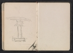 [Gertrude Vanderbilt Whitney sketchbook/diary pages 23]