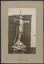 A study for Gertrude Vanderbilt Whitneys Titanic Memorial