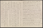 [Letter from Mary C. Chew to Gertrude Vanderbilt Whitney pages 1]