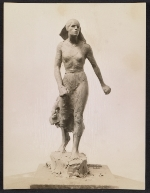 [Clay model of Gertrude Vanderbilt Whitney's sculpture Spirit of the Red Cross ]