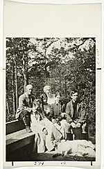Abbott Handerson Thayer and family