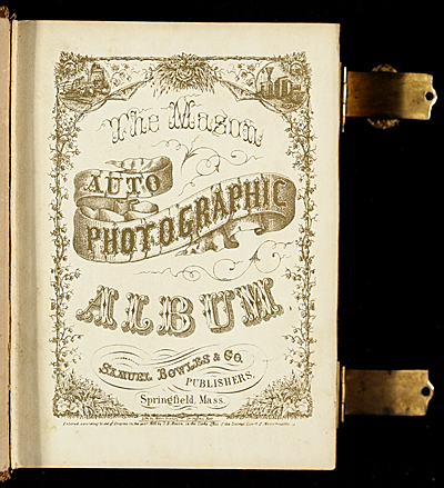 [Photograph album of nineteenth century artists]