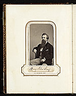 [Photograph album of nineteenth century artists page 4]