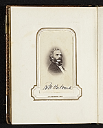 [Photograph album of nineteenth century artists page 8]