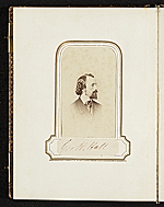 [Photograph album of nineteenth century artists page 21]