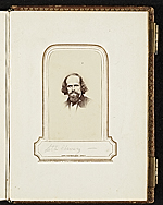 [Photograph album of nineteenth century artists page 16]