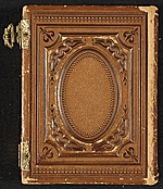[Photograph album of nineteenth century artists cover back 37]
