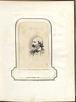 [Photograph album of nineteenth century artists page 18]