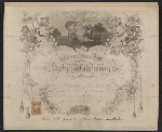 [Worthington Whittredge marriage certificate ]