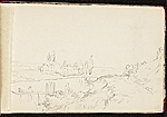 [Worthington Whittredge sketchbook of a trip down the Rhine River sketchbook page 5]