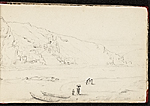 [Worthington Whittredge sketchbook of a trip down the Rhine River sketchbook page 6]