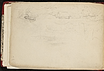 [Worthington Whittredge sketchbook of a trip down the Rhine River sketchbook page 7]