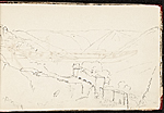 [Worthington Whittredge sketchbook of a trip down the Rhine River sketchbook page 11]