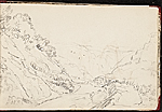 [Worthington Whittredge sketchbook of a trip down the Rhine River sketchbook page 15]