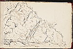 [Worthington Whittredge sketchbook of a trip down the Rhine River sketchbook page 19]