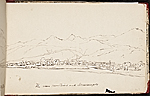 [Worthington Whittredge sketchbook of a trip down the Rhine River sketchbook page 27]