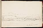 [Worthington Whittredge sketchbook of a trip down the Rhine River sketchbook page 29]