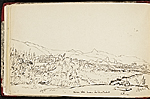 [Worthington Whittredge sketchbook of a trip down the Rhine River sketchbook page 30]