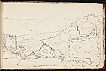 [Worthington Whittredge sketchbook of a trip down the Rhine River sketchbook page 35]