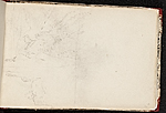 [Worthington Whittredge sketchbook of a trip down the Rhine River sketchbook page 50]