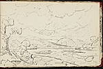 [Worthington Whittredge sketchbook of a trip down the Rhine River sketchbook page 56]