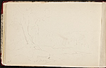 [Worthington Whittredge sketchbook of a trip down the Rhine River sketchbook page 58]