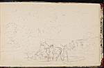 [Worthington Whittredge sketchbook of a trip down the Rhine River sketchbook page 64]