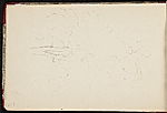 [Worthington Whittredge sketchbook of a trip down the Rhine River sketchbook page 72]