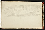 [Worthington Whittredge sketchbook of a trip down the Rhine River sketchbook page 73]