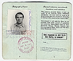 Frans Wildenhain's passport