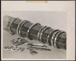 [Silver jewelry made by Walter Reed Army Hospital patients ]