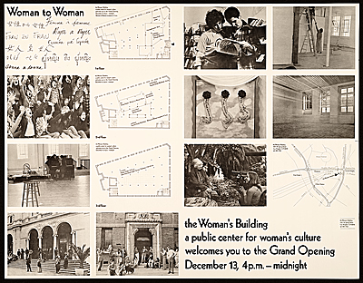 Woman to woman exhibition poster