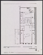 Floor plan for the proposed Woman's Building, 719-725 S. Spring Street, first floor