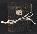 [Beatrice Wood diary cover ]