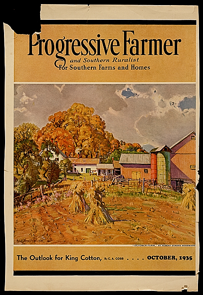 The cover of Progressive Farmer magazine