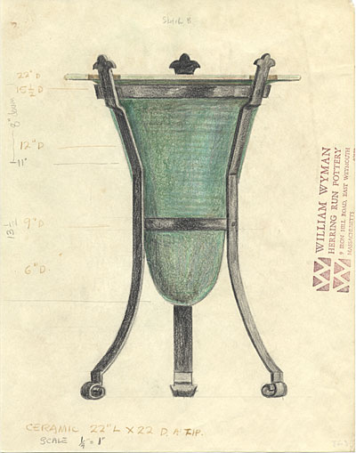 [Design for an urn]