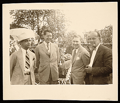 John Pappas, Paul McPharlin, Jerry Sylvester and Joseph Sparks