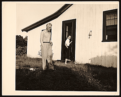 [Leo and Alice Yamin at their home in Martha's Vineyard, Mass.]