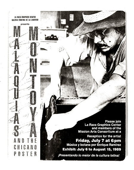 [Malaquías Montoya and the Chicano Poster]